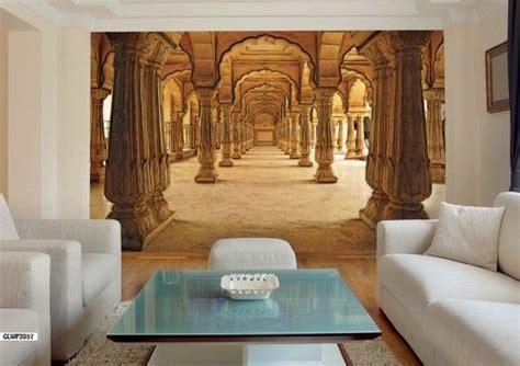 indian palace corridor  wallpaper