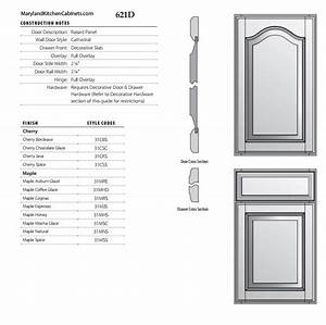 621 – Cabinet Door Styles and Finishes Maryland Kitchen