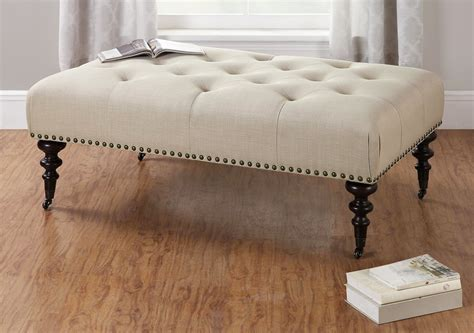 Tufted Fabric Coffee Table by Tufted Coffee Table For Elegance Creativity And Luxury