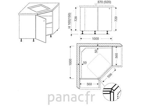meuble cuisine plaque cuisson meuble d 39 angle sous plaque de cuisson oc 100 nsl