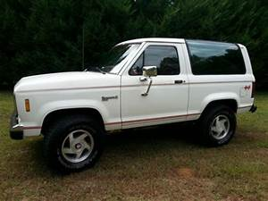 Purchase Used 1986 Ford Bronco Ii Xlt Sport Utility 2