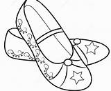 Coloring Heel Pages Printable Shoe Getcolorings sketch template