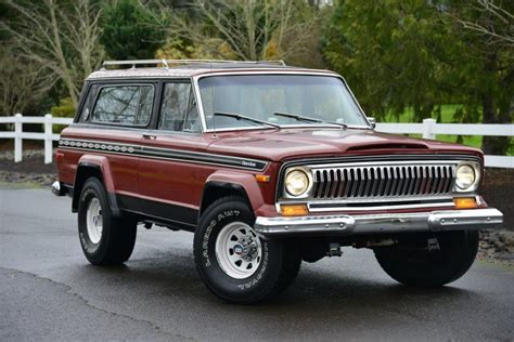 1977 jeep cherokee chief no reserve 1977 jeep cherokee chief s bring a trailer