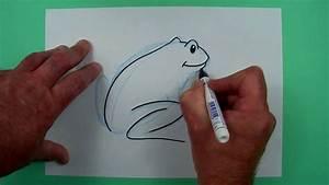 Wie Pflegt Man Einen Weihnachtsstern : wie zeichnet man einen frosch zeichnen f r kinder youtube ~ Lizthompson.info Haus und Dekorationen