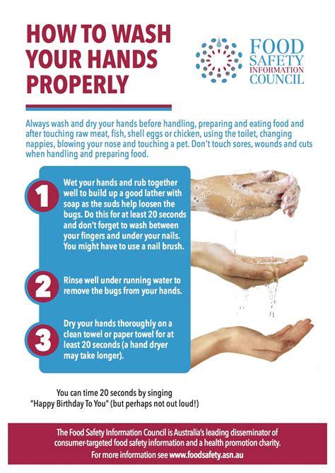Foodsafetyasnau » Handwashing  Basic Tips