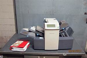 lot 72 pitney bowes di 350 x system 3 letter folder With pitney bowes letter folder