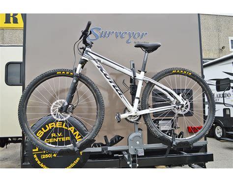 bike rack for rv swagman dispatch 2 bike rv approved by swagman