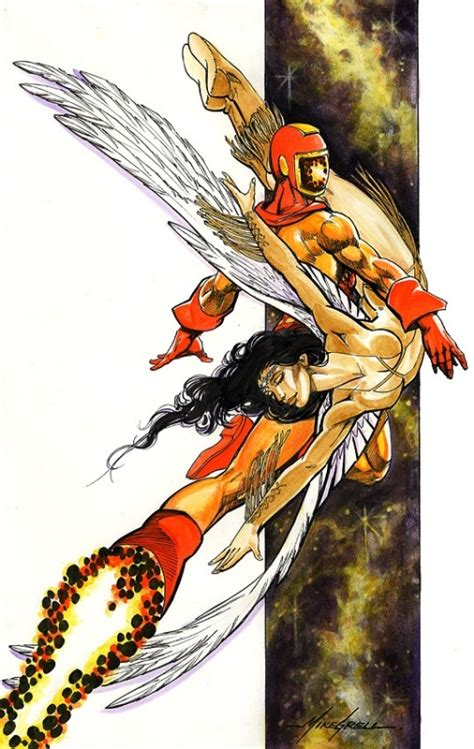 Wildfire And Dawnstar  Mike Grell, In Ole H's Legion Of