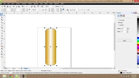 how to make the color coral how to make gold plated colors in corel draw