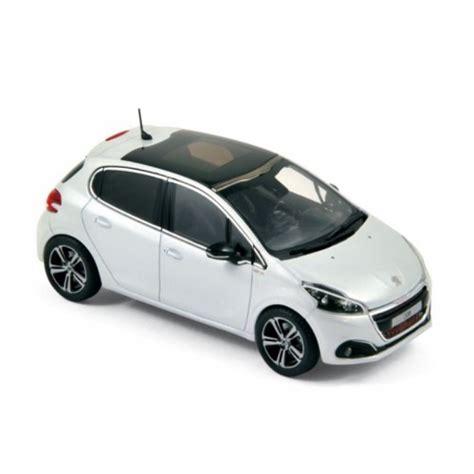 voiture peugeot images 1 43 voiture miniature peugeot 208 gt line blanc nacr 233