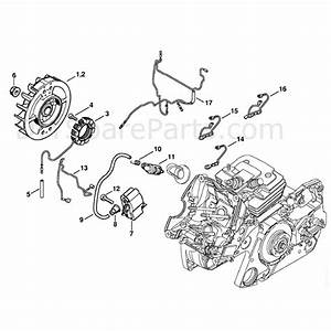 Stihl Ms 441 Chainsaw  Ms441 Z  Parts Diagram  Ignition System