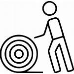 Icon Wire Electrical Extended Vectorified Rolling Svg