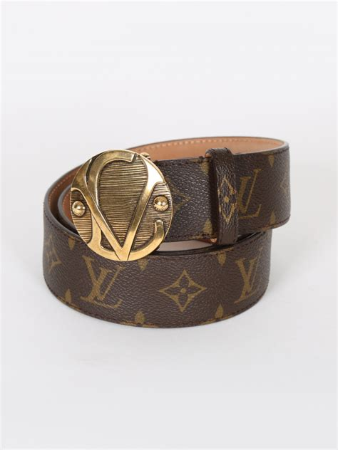 louis vuitton ceinture  monogram canvas belt