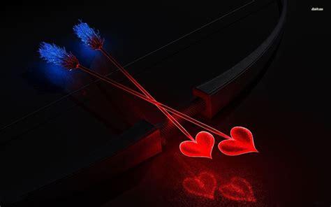 Future Diary Yuno Wallpaper Heart Arrows Walldevil