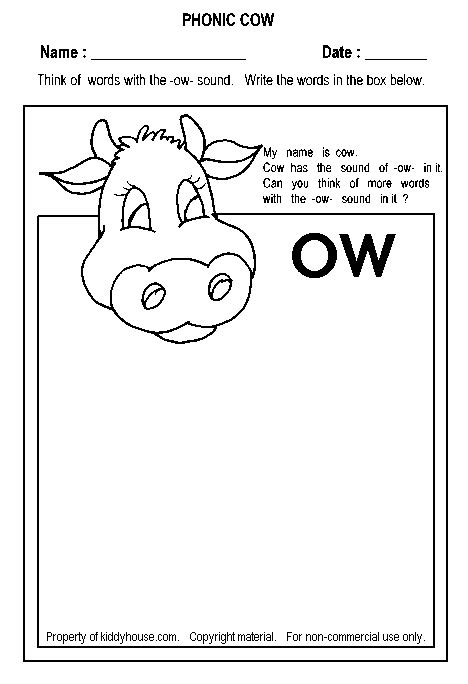 free worksheets from kiddyhouse