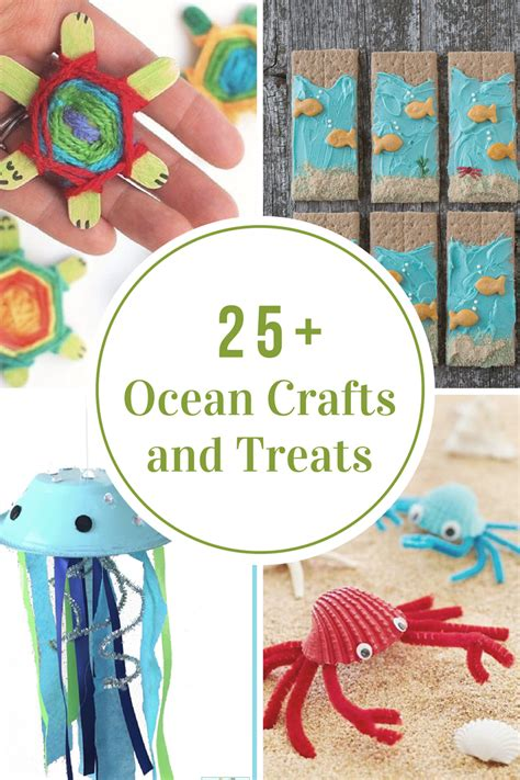 ocean crafts  treats  idea room