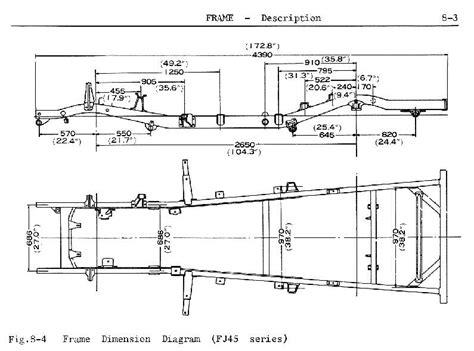 1991 Club Car Wiring Diagram Ga by Fj45 Frame Dimensions Ih8mud Forum