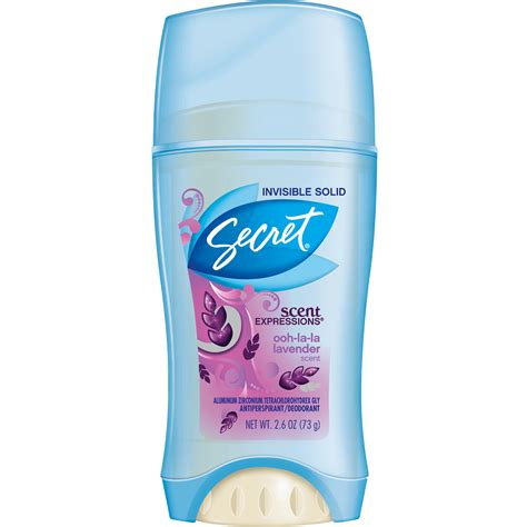 scent expressions invisible solid deodorant secret