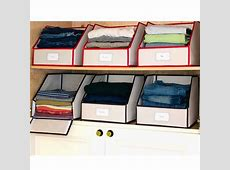 Closet Designs glamorous clothing storage boxes