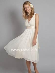 Robe Mi Longue Mariage : robe mi longue chic pour mariage ~ Melissatoandfro.com Idées de Décoration