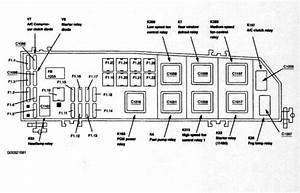 2005 Mercury Mariner Fuse Diagram