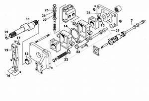 Massey Ferguson Hydraulic Pump Detail