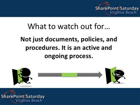 steps  effective sharepoint governance