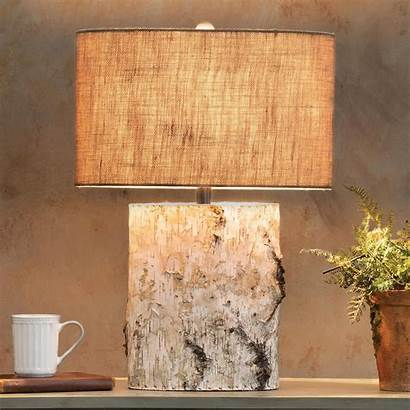 Table Wood Lamp Birch Lamps