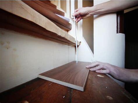 Alte Stufen Renovieren Laminat Auf Treppen Verlegen Bauende