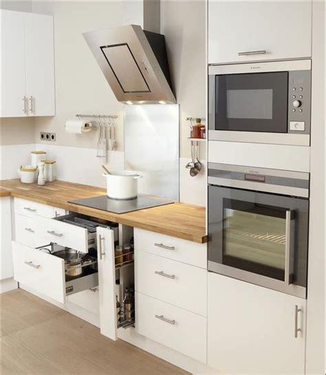 cuisine moderne blanc et bois blanc et bois kitchen design