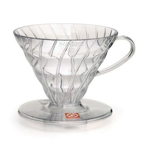 Hario V60 Dripper 02 Clear Plastic   Espresso Parts