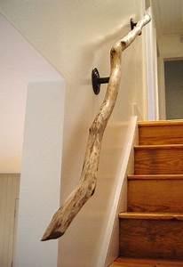Forer Un Puits Soi Même : rampe d 39 escalier en bois 2 escaliers pinterest ~ Premium-room.com Idées de Décoration