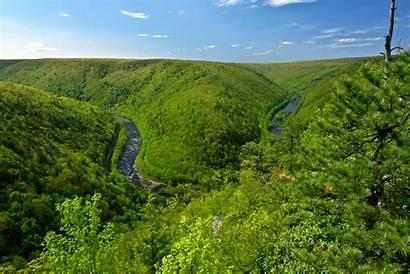 Views Pennsylvania Pa Mountain County Overlook Places