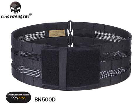 emersongear vest mesh cummerbund black carrier for avs jpc