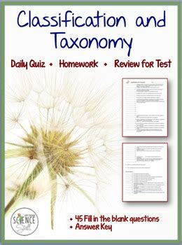 Stem, pearson, envision math, etext, math curriculum, pearson login, pearson realize. Classification of Living Organisms (Taxonomy) Quiz ...