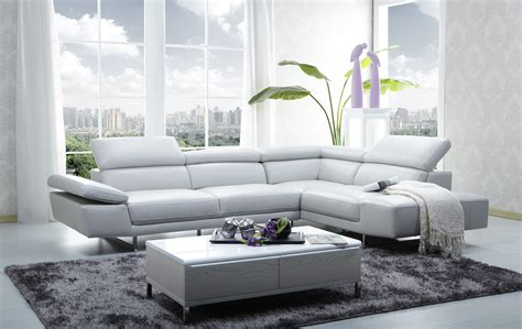 white leather loveseat 1717 leather modern sectional sofa