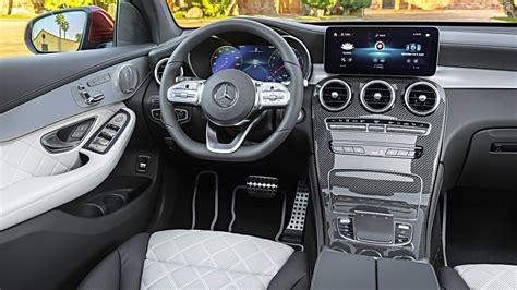 mercedes glc coupe interior youtube