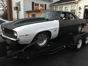 1969 Camaro Pro Street Car Drag Car Muscle Car Tubbed