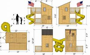 10x10, Deluxe, Loft, Clubhouse, Plan, For, Kids, U2013, Paul, U0026, 39, S, Playhouses
