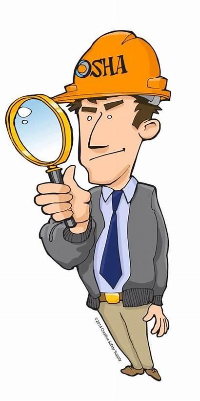 Osha Clipart Equipment Inspection Safety Miss Near