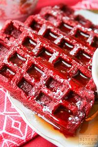 Red Velvet Waffles – The Bitter Socialite