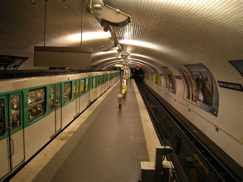 Porte De Champerret (paris Métro)