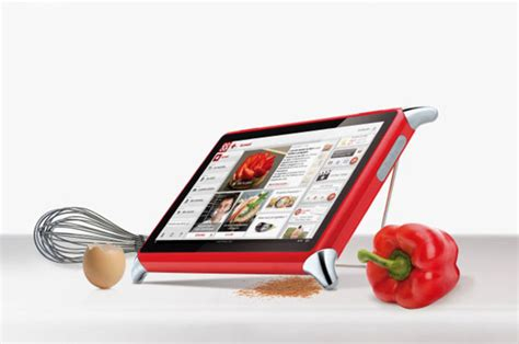 tablette pour la cuisine noël de la tech qooq la tablette de cuisine qui