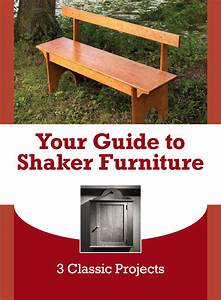 Woodwork Woodworking Plans Period Furniture Free PDF Plans