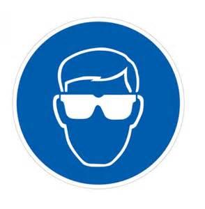 Eye Protection Safety Symbol