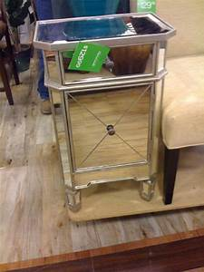 home goods mirrored nightstand miscellaneous With mirrored furniture at home goods