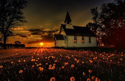 church wallpaper  background image  id