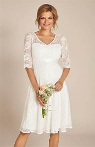 flossie maternity wedding dress short ivory maternity With short maternity wedding dresses