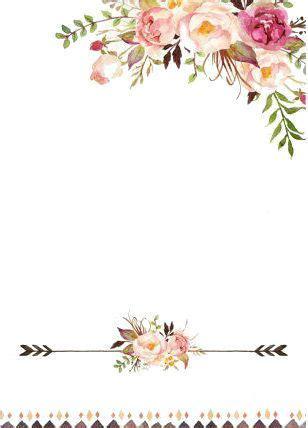 marco floral crafting em 2019 floral watercolor floral border e flower backgrounds