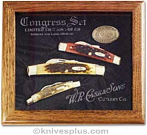 Case Knives: Case Congress Knife Commemorative Set, CA 1087